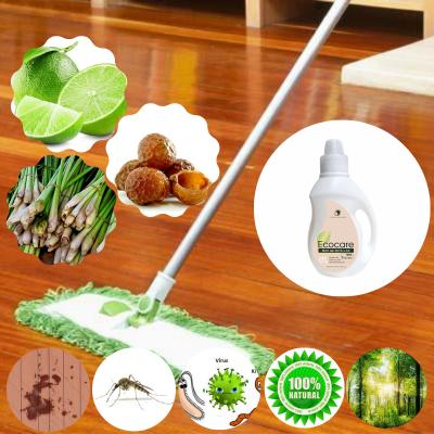 Lau sàn hữu cơ bồ hòn sả chanh